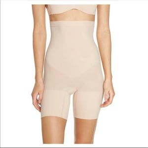 Spanx Higher Power Mid Thigh Shaping Shorts